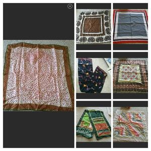 Accessories - 7 Scarf bundle PRICE FIRM